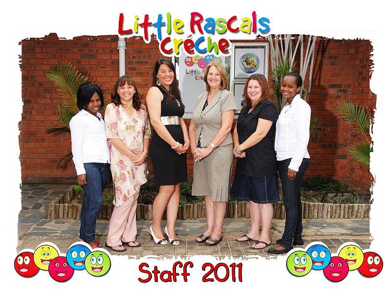 Little Rascals Staff 2011